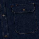 Мужская рубашка Calvin Klein Jeans Est. 1978 Western Denim Panel Rinse Indigo фото- 2