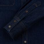 Мужская рубашка Calvin Klein Jeans Est. 1978 Western Denim Panel Rinse Indigo фото- 3