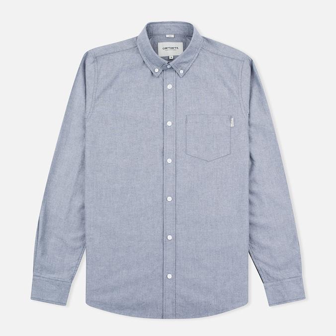 Мужская рубашка Carhartt WIP Alpha Oxford Black