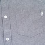 Мужская рубашка Carhartt WIP Alpha Oxford Black фото- 2