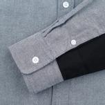 Мужская рубашка Carhartt WIP Alpha Oxford Black фото- 3