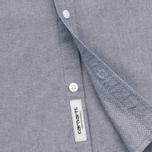 Мужская рубашка Carhartt WIP Alpha Oxford Black фото- 4