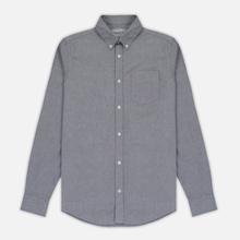 Мужская рубашка Carhartt WIP Button Down Pocket Cotton Oxford 4.7 Oz Black фото- 0