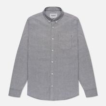 Мужская рубашка Carhartt WIP Button Down Pocket Cotton Oxford 4.7 Oz Black фото- 1