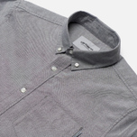 Мужская рубашка Carhartt WIP Button Down Pocket Cotton Oxford 4.7 Oz Black фото- 2