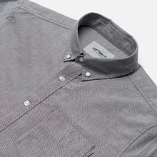 Мужская рубашка Carhartt WIP Button Down Pocket Cotton Oxford 4.7 Oz Black фото- 2