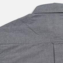 Мужская рубашка Carhartt WIP Button Down Pocket Cotton Oxford 4.7 Oz Black фото- 6