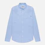 Мужская рубашка Carhartt WIP Button Down Pocket Cotton Oxford 4.7 Oz Bleach фото- 1