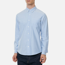 Мужская рубашка Carhartt WIP Button Down Pocket Cotton Oxford 4.7 Oz Bleach фото- 3