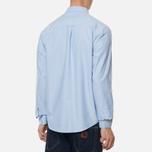 Мужская рубашка Carhartt WIP Button Down Pocket Cotton Oxford 4.7 Oz Bleach фото- 4