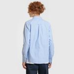 Мужская рубашка Carhartt WIP Button Down Pocket Cotton Oxford 4.7 Oz Bleach фото- 9