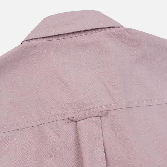 Мужская рубашка Carhartt WIP Button Down Pocket Cotton Oxford 4.7 Oz Blush