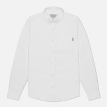 Мужская рубашка Carhartt WIP Button Down Pocket Cotton Oxford 4.7 Oz White фото- 1