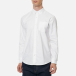 Мужская рубашка Carhartt WIP Button Down Pocket Cotton Oxford 4.7 Oz White фото- 3