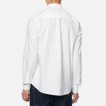 Мужская рубашка Carhartt WIP Button Down Pocket Cotton Oxford 4.7 Oz White фото- 4