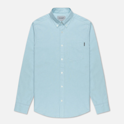 Мужская рубашка Carhartt WIP Button Down Pocket Cotton Oxford 4.7 Oz Window