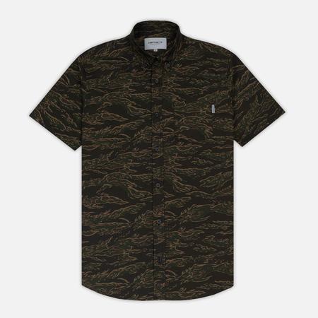 Мужская рубашка Carhartt WIP Camo Tiger S/S Camo Tiger Laurel