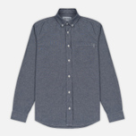 Мужская рубашка Carhartt WIP Civil Blue Rinsed фото- 0