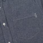 Мужская рубашка Carhartt WIP Civil Blue Rinsed фото- 2