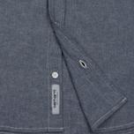 Мужская рубашка Carhartt WIP Civil Blue Rinsed фото- 4