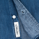 Мужская рубашка Carhartt WIP Civil Nashville 5.8. Oz Blue Fidelity Washed фото- 4