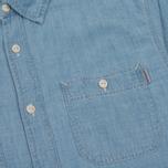 Мужская рубашка Carhartt WIP Clink Blue Stone Bleached фото- 2