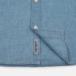 Мужская рубашка Carhartt WIP Clink Blue Stone Bleached фото- 3
