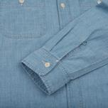 Мужская рубашка Carhartt WIP Clink Blue Stone Bleached фото- 4