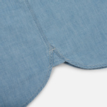 Мужская рубашка Carhartt WIP Clink Blue Stone Bleached фото- 5