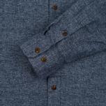 Мужская рубашка Carhartt WIP Cram 4.7 Oz Navy фото- 2