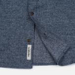 Мужская рубашка Carhartt WIP Cram 4.7 Oz Navy фото- 4