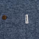 Мужская рубашка Carhartt WIP Cram 4.7 Oz Navy фото- 6