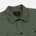 Мужская рубашка Carhartt WIP Curt Dollar Green/Black Stone Washed фото- 1