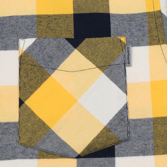 Мужская рубашка Carhartt WIP Keagan Check/Sunflower
