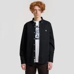 Мужская рубашка Carhartt WIP Madison 6.5 Oz Black/Wax фото- 1