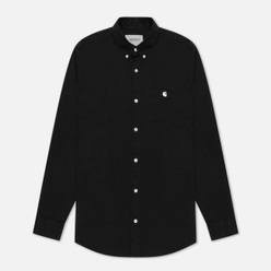 Мужская рубашка Carhartt WIP Madison 6.5 Oz Black/White