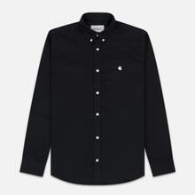 Мужская рубашка Carhartt WIP Madison 6.5 Oz Black/White фото- 0