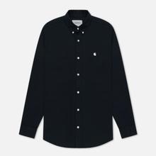 Мужская рубашка Carhartt WIP Madison 6.5 Oz Dark Navy/Wax фото- 0