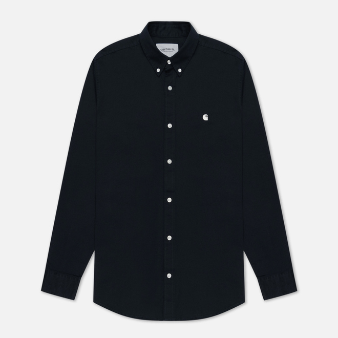 Мужская рубашка Carhartt WIP Madison 6.5 Oz Dark Navy/Wax