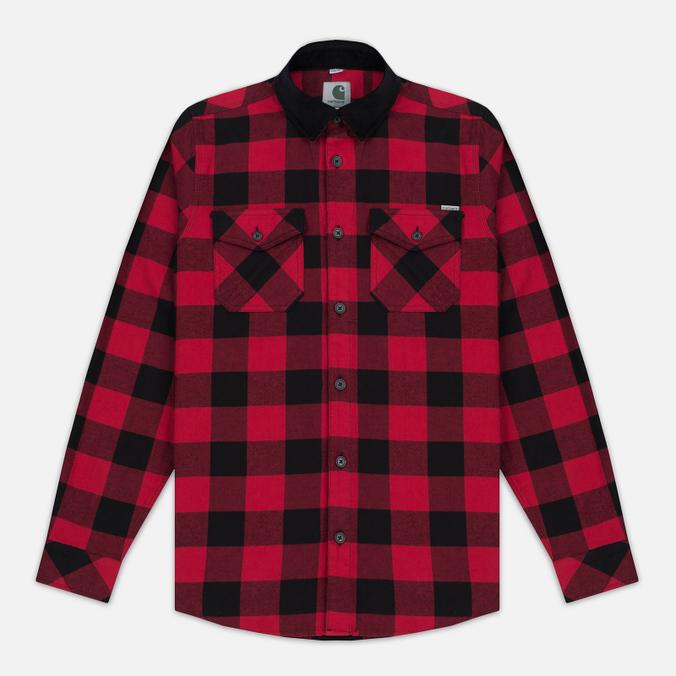 Carhartt WIP Marlon 5 Oz Men's Shirt Blast Red