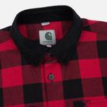 Мужская рубашка Carhartt WIP Marlon 5 Oz Blast Red фото- 1