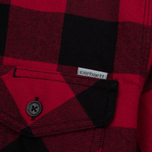 Мужская рубашка Carhartt WIP Marlon 5 Oz Blast Red фото- 5