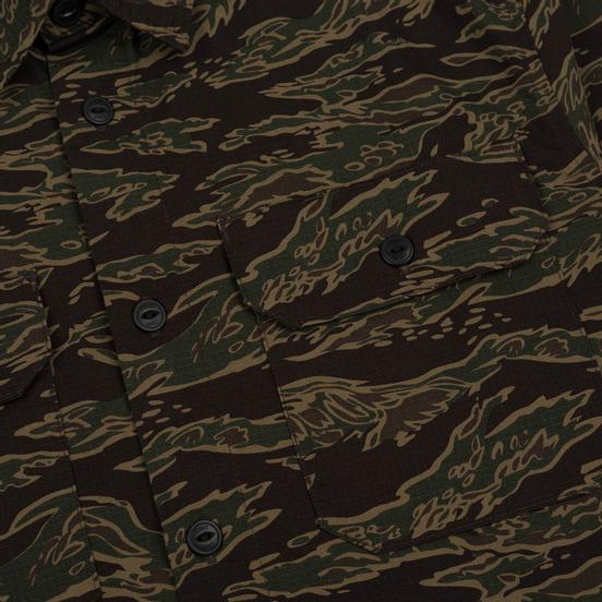 Мужская рубашка Carhartt WIP Mission Camo Tiger Laurel Stone Washed