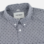 Мужская рубашка Carhartt WIP Polka Oxford 4.7 Oz Black/Black фото- 1