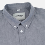 Мужская рубашка Carhartt WIP Rogers Black фото- 1