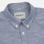 Мужская рубашка Carhartt WIP Rogers Blue фото- 1