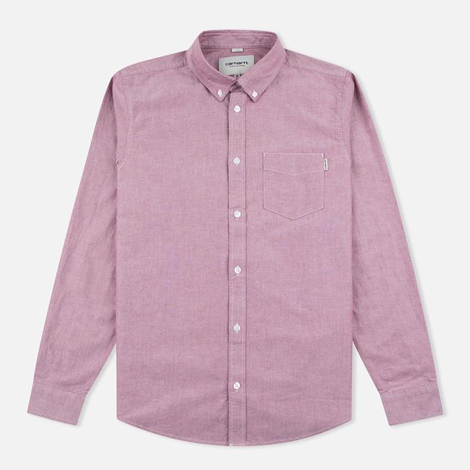 Мужская рубашка Carhartt WIP Rogers Cordovan