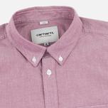 Мужская рубашка Carhartt WIP Rogers Cordovan фото- 1
