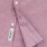 Мужская рубашка Carhartt WIP Rogers Cordovan фото- 4