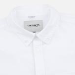Мужская рубашка Carhartt WIP Rogers White фото- 1